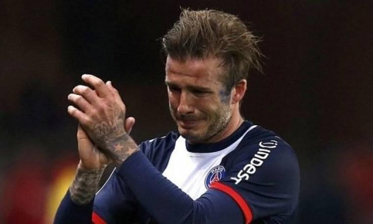 Ξέσπασε σε λυγμούς ο David Beckham! (φωτό)