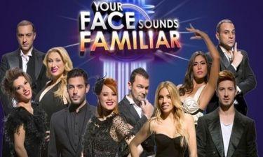 Στα ύψη η τηλεθέαση για το Your Face Sounds Familiar