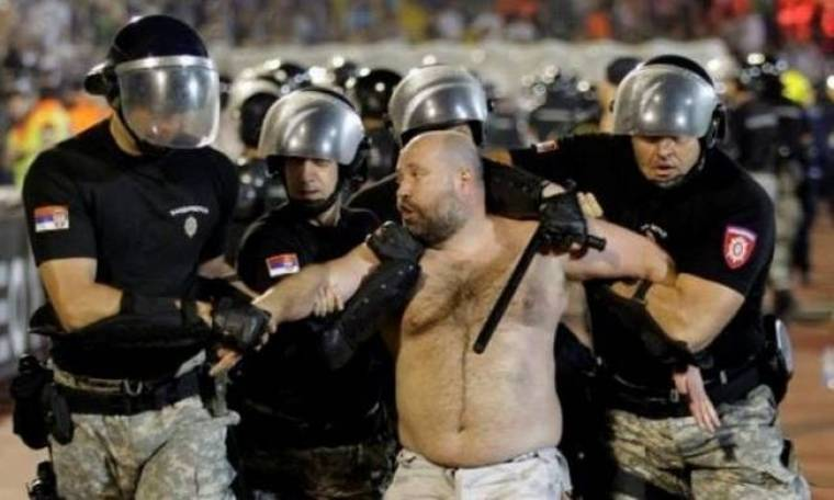 Το… χάος στο Παρτιζάν – Ερυθρός Αστέρας (photos+videos) | onsports.gr