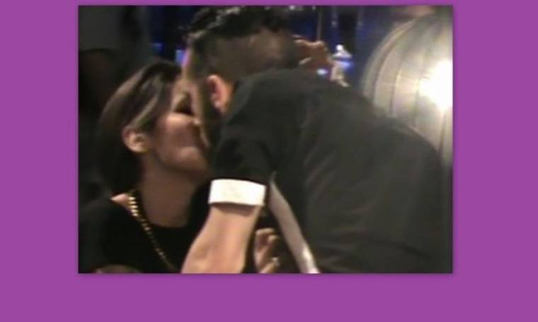 Eurovision 2013: Το φιλί του Ηλία Κοζά στην αρραβωνιαστικιά του λίγο μετά τον τελικό!