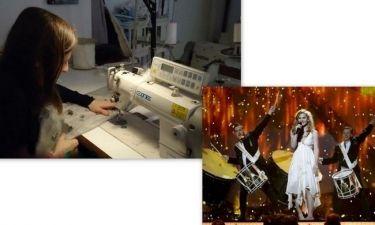 Άνια Ελευθερία Διακοβασίλη: Αυτη έραψε το φόρεμα της νικήτριας της φετινής Eurovision! (Nassos blog)