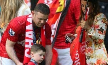 Μπαμπάς έγινε τα ξημερώματα για δεύτερη φορά ο Rooney