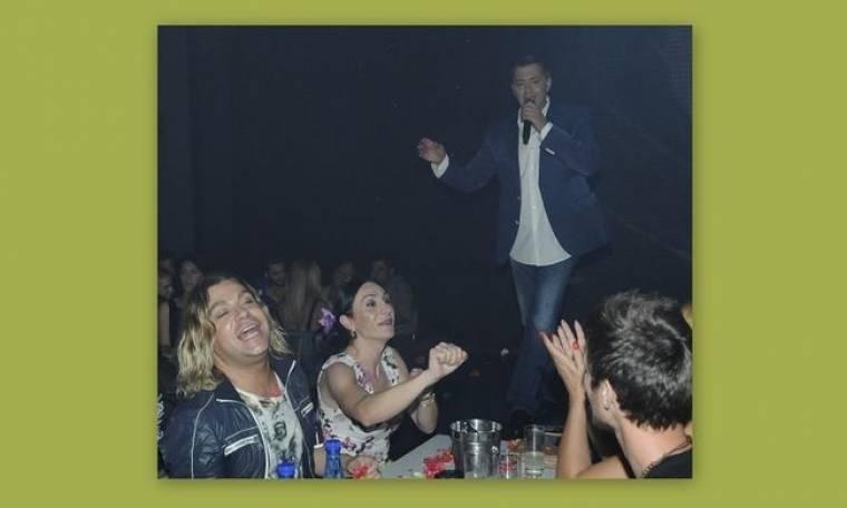 Σαμαράς- Ορφανού: Διασκέδασαν στο Romeo
