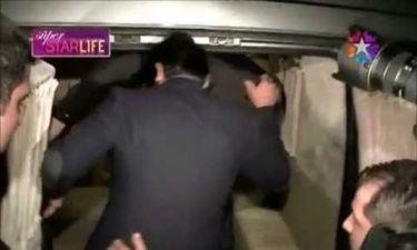 Ο «Mr Karadayi» ήταν τύφλα στο μεθύσι και τα έβαλε με τους δημοσιογράφους