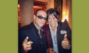 Ο Ηλιάς Ψινάκης φωτογραφήθηκε με τον Jean Claude Van Damme