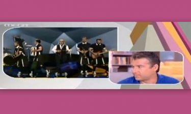 Το ξέσπασμα του Λιάγκα για την Eurovision: «Αν δεν έχεις ρε μάγκα, μην τους στέλνεις γαμ@ την π@τ@ν@ μου»