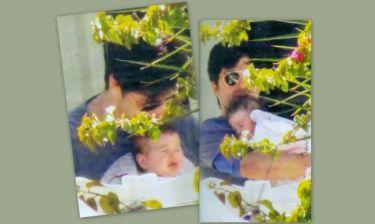Οι τρυφερές στιγμές του Σάκη με την κόρη του!