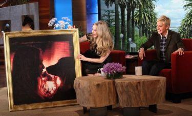 Η Seyfriend παραπονέθηκε στην DeGeneres οτι στο Hollywood μίκρυνε το στήθος της!