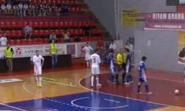 Σερβία: Διαιτητής συνελήφθη για… κεφαλιά σε τερματοφύλακα! (video)