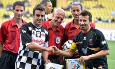 Φόρμουλα 1: Ποδοσφαιρικός αγώνας με Αλόνσο, Μάσα και… Τζόκοβιτς στο Μονακό (photos)