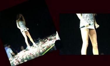 """Αποκλειστική φωτό: Το """"καυτό"""" ατύχημα της Πάολα στην πίστα την Παρασκευή!!! (Nassos blog)"""
