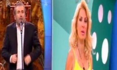 Απολαυστικό βίντεο: Η Μενεγάκη μπερδεύτηκε και ο Λάκης την «κάρφωσε»
