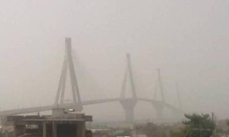 «Χάθηκε» από τη σκόνη της Αφρικής η γέφυρα Ρίου-Αντιρρίου (pics)