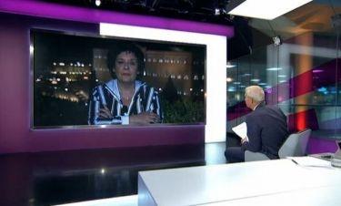 """Λιάνα Κανέλλη στο Channel 4 """"Τα κτήνη της Χρυσής Αυγής προκαλούν τον λαό"""""""