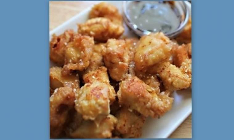Σπιτικά, τραγανά chicken nuggets με Honey Teriyaki BBQ sauce