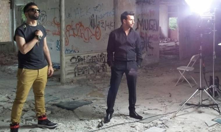 Backstage από το video clip των Master Tempo με τον Θάνο Πετρέλη