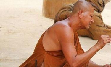 Δείτε τι ζώα έχουν σαν κατοικίδια Βουδιστές μοναχοί (pics)