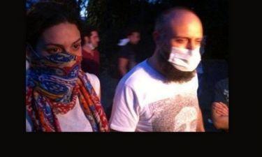 Φωτογραφία ντοκουμέντο: Στις αιματηρές διαδηλώσεις της Κωνσταντινούπολης κατέβηκε και ο τηλεοπτικός «Σουλεϊμάν»