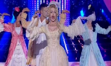 Η Κρυσταλλία έγινε Βασίλισσα της ποπ στο αποψινό «Your face sounds familiar»