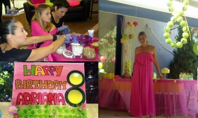 Η κόρη της Ζέτας Λογοθέτη έγινε 8 και η μαμά ετοίμασε σούπερ Birthday party!