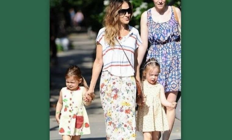 Είναι το νέο trend της μόδας; Η κόρη της Sarah Jessica Parker εμφανίστηκε με επίδεσμο στο ένα πόδι της!