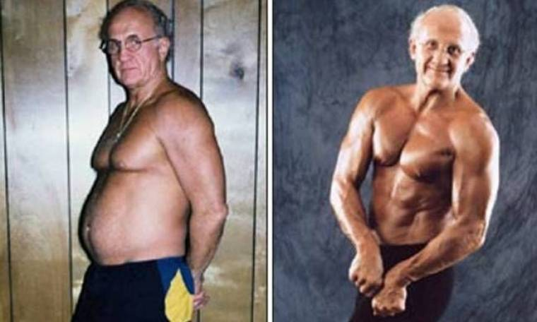 Ένας παππούς με σώμα... 20άρη άφησε «άφωνο» το διαδίκτυο!