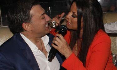 Η Άντζελα Δημητρίου διασκέδασε και στο Romeo!