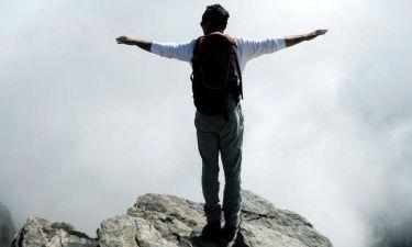 Ποιος είναι ο ηθοποιός που κάνει ορειβασία;