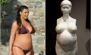 Για όνομα του Θεού: Η Kim Kardashian έγινε και άγαλμα