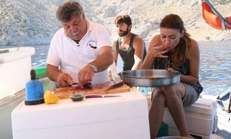 Στην Κάλυμνο με τον Λευτέρη Λαζάρου με «Του νερού τα παραμύθια» της ΕΤ3