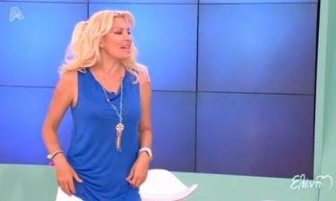 Ελένη Μενεγάκη: Δείτε τι φόρεσε για πρώτη φορά φέτος στην εκπομπή της!