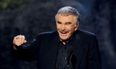 Αγνώριστος ο Burt Reynolds από τις πλαστικές!