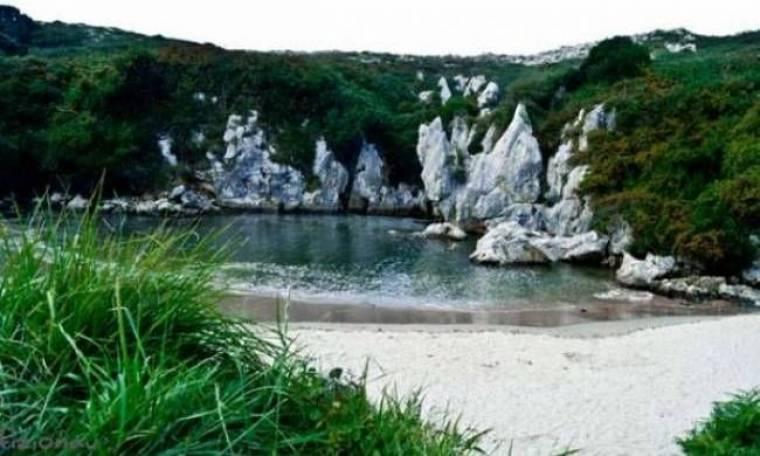 Απίστευτες εικόνες: Μια παραλία χωρίς θάλασσα