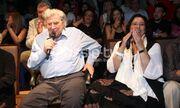 Μίκης Θεοδωράκης: Τραγούδησε στην τελευταία αφιερωματική του παράσταση μαζί με την Μαρία Φαραντούρη!
