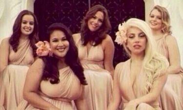 Η Lady Gaga έγινε παράνυφος στο γάμο της παιδικής της φίλης!