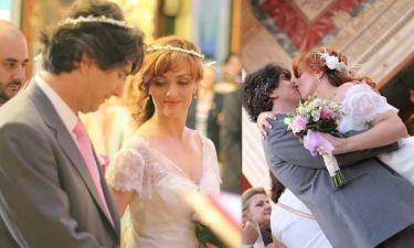 Ο γάμος της Αλίνας Κωτσοβούλου στην Σύρο (photos)