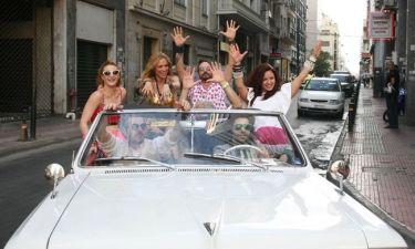 Οι πρωταγωνιστές του The Hangover IV έκαναν άνω κάτω το κέντρο της Αθήνας
