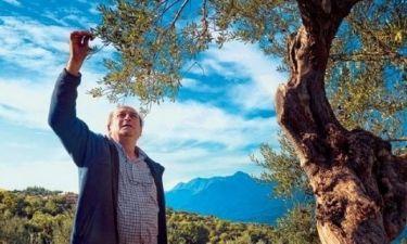 Μανούσος Μανουσάκης: Από τα πλατό στις καλλιέργειές του