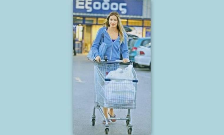 Μαριέττα Χρουσαλά: Με την μαμά στο σούπερ μάρκετ πριν την βάφτιση