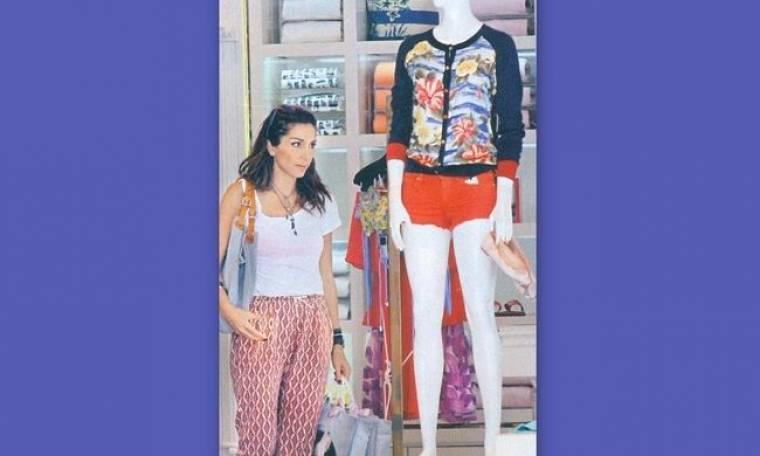 Δέσποινα Βανδή Shopping therapy στην Γλυφάδα
