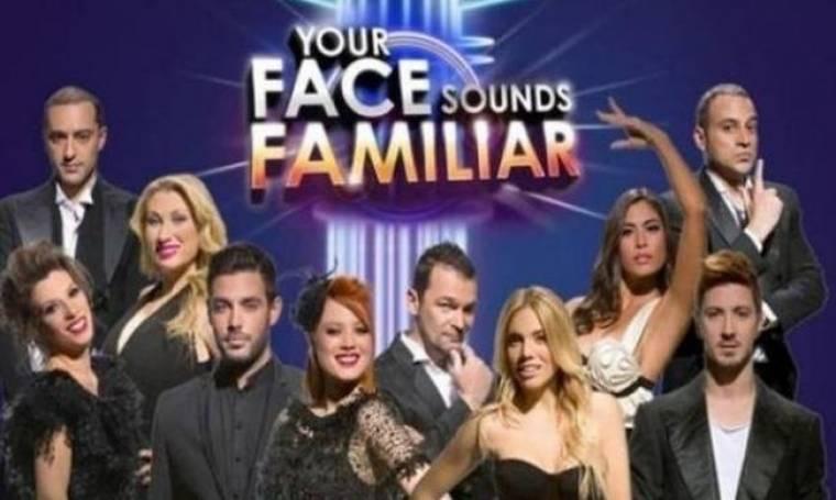 Χωρίς «Your face sounds familiar» την Κυριακή!