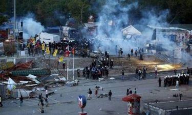 Ταξίμ: Ωμή βία από την αστυνομία – Συνεχίζονται οι διαδηλώσεις