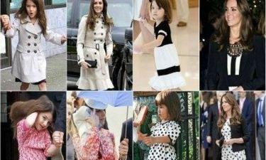 Τι κοινό μπορεί να έχουν η Suri Cruise και η Kate Middleton; Τη μόδα!