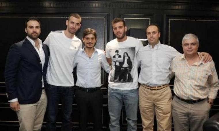 Παναθηναϊκός: Οι υπογραφές Γιάνκοβιτς και Παππά (photos)