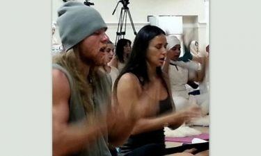 Δείτε το νέο αγόρι της Demi Moore να κάνει τον ταρζάν (φωτός)