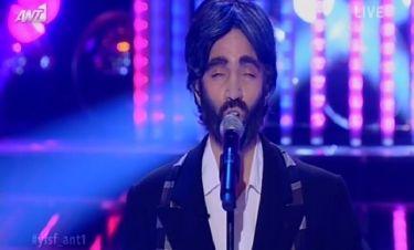 Εντυπωσιακή η μίμηση της Κρυσταλλίας σε Andrea Bocelli