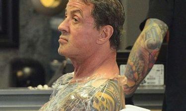 Νέα τατουάζ για τον Stallone!