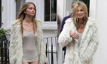 Σκάνδαλο: Η Kate Moss χρησιμοποιεί ντουμπλέρ στις φωτογραφήσεις(η οποία θα μπορούσε να είναι κόρη της)