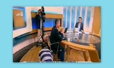 Στο πάτωμα της εκπομπής του on air ο Γιώργος Παπαδάκης