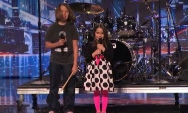 Απίστευτο! 6χρονο κορίτσι τραγούδησε σαν τον… Alice Cooper και άφησε άφωνη την κριτική επιτροπή!